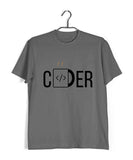 Coding Nerd Engineering CODER  Custom Printed Graphic Design T-Shirt for Men - Aaramkhor