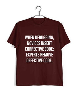 Coding Nerd Engineering EXPERT CODER Custom Printed Graphic Design T-Shirt for Women - Aaramkhor
