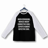 Coding Nerd Engineering EXPERT CODER Custom Printed Graphic Design Raglan T-Shirt for Women - Aaramkhor