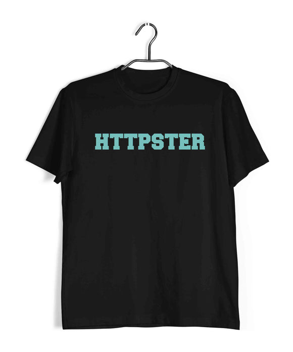 Coding Nerd Engineering HTTPSTER Custom Printed Graphic Design T-Shirt for Men - Aaramkhor