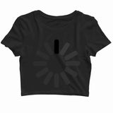 Coding Nerd Engineering LOADING Custom Printed Graphic Design Crop Top T-Shirt for Women - Aaramkhor