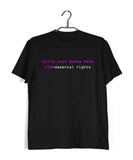 Feminista Feminism GIRLS JUST WANT TO HAVE FUN Custom Printed Graphic Design T-Shirt for Women - Aaramkhor