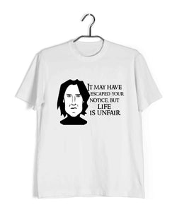 Books Harry Potter SARCASTIC SNAPE IS SARCASTIC Custom Printed Graphic Design T-Shirt for Women - Aaramkhor