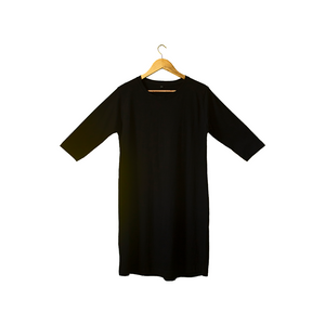 Plain Long Dress T shirt - Aaramkhor