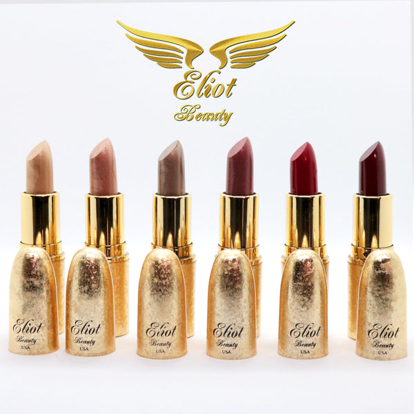 Eliot Beauty- A Set of Lipsticks, Masks, Lip Liners, Eyeliner, Gold Serum & Tattoo Cream (24 Pieces)