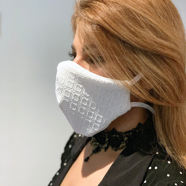 Mask - Reusable Washable Face Mask with a Beautiful Pattern - Free USA Shipping