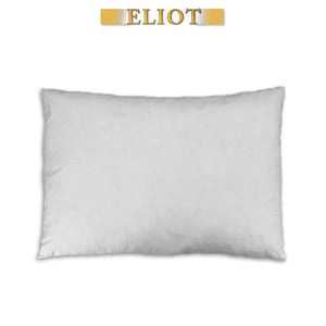 "Feather Down Fiber Pillow Insert 15""x20"""