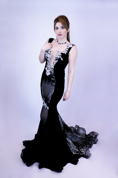Joupalel Fleur - Women's Evening Gown - Made To Order