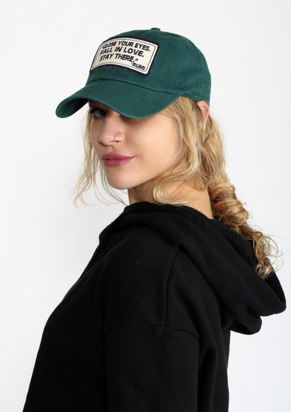 Liliana - Men & Women's Sport Hat - Color: Green