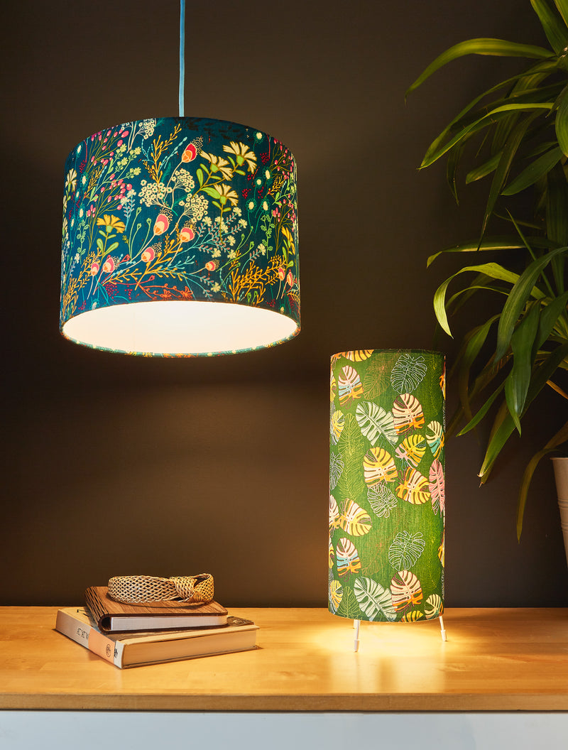 Jungle Leaves Table Lamp