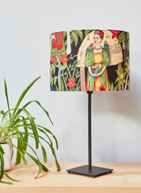 Frida's Garden Lampshade in Black
