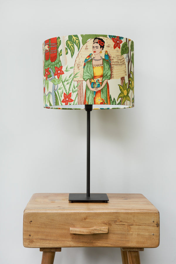 Frida's Garden Lampshade Natural