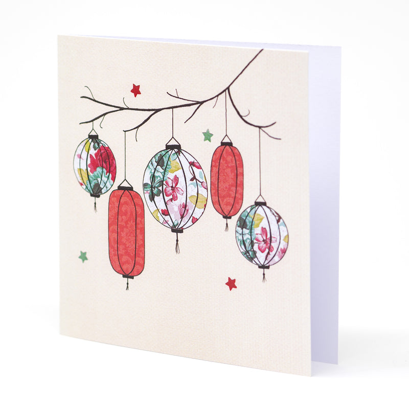 Lantern Greetings Card