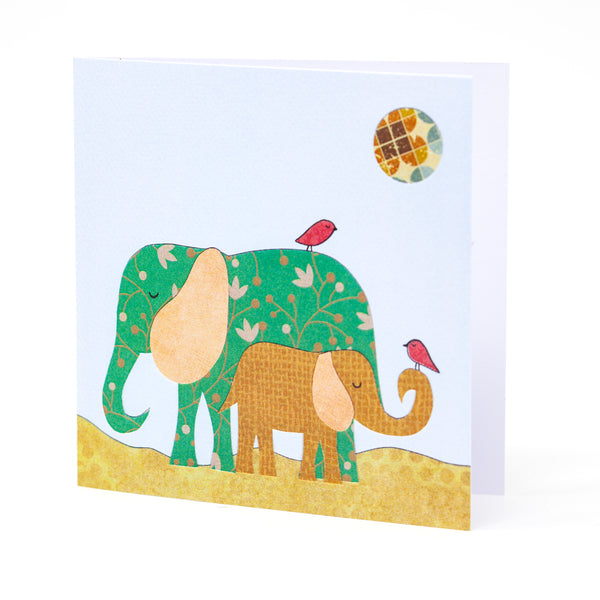 Elephant Greetings Card