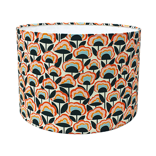 Retro Flower Lampshade