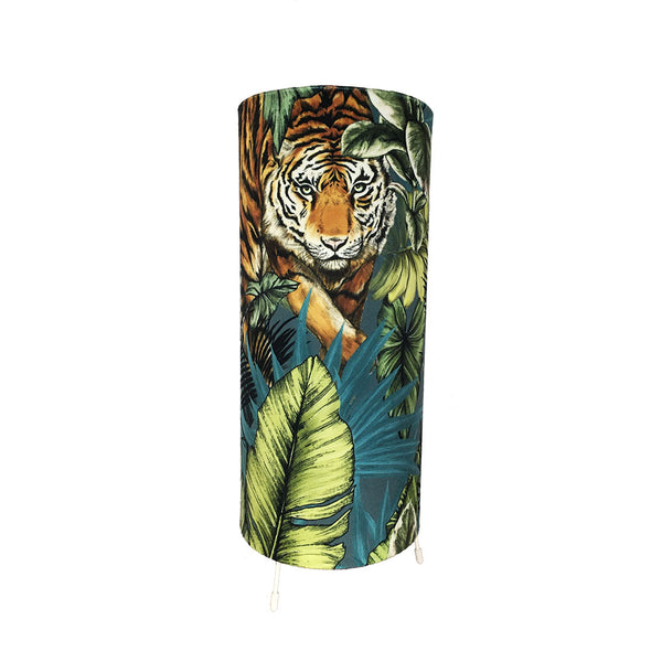 Velvet Tiger Table Lamp