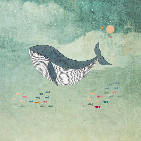 Whale Greetings Card