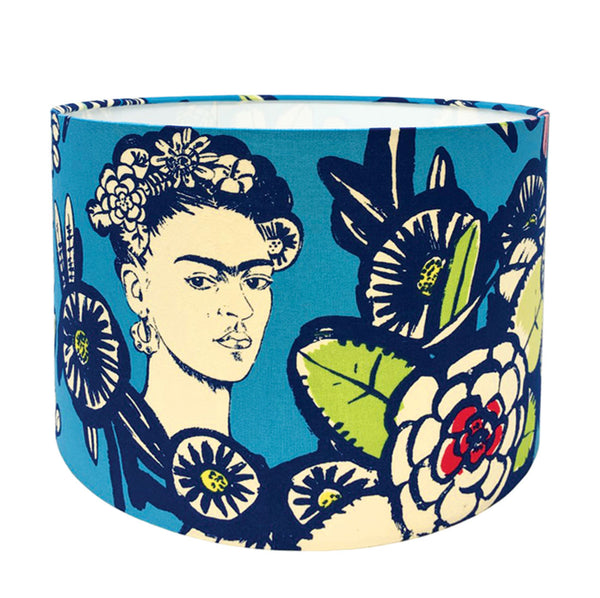 Blue Frida Lampshade