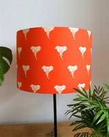Orange Elephant Lampshade