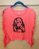 Dolly Fringe Bling Tee