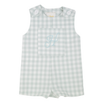Willow Wood Boys Matching Romper Shortall