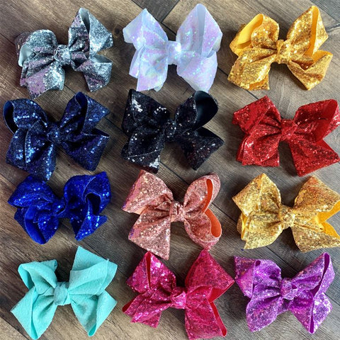 Large Sequin Bows