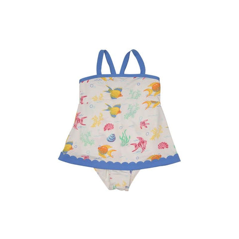 Sanctuary Scallop Swimsuit Fripp Fishes