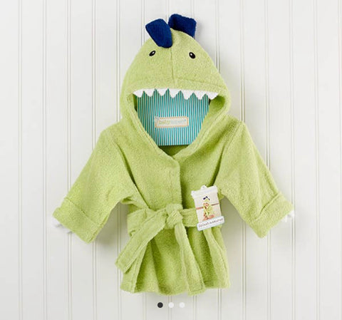 Splashasuarus Dinosaur Hooded Towel