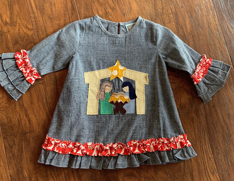 Nativity Scene Dress