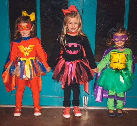 Bat Woman Tutu Costume