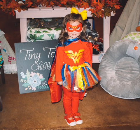 Wonder Woman Tutu Costume