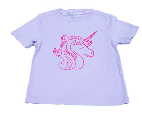 Purple Unicorn Tee