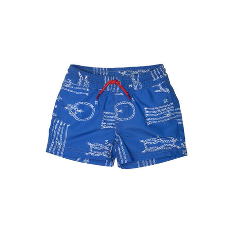 Yachts of Knots Swim Trunks