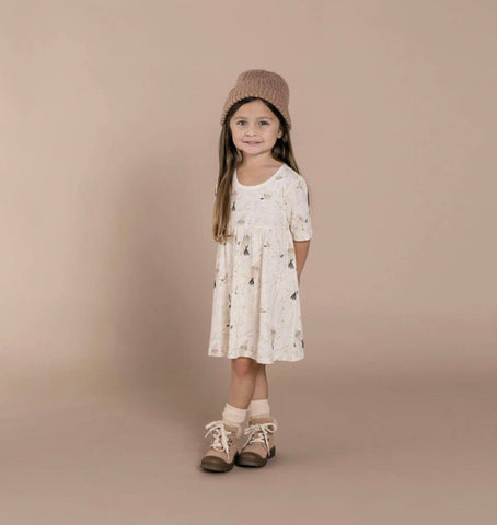 Winter Birds Finn Dress