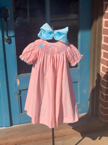 Princess Smocked Dress