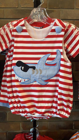 Shark Applique Bubble