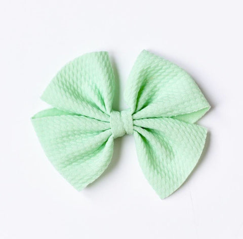 Butterfly Fabric Bow on Nylon Headband