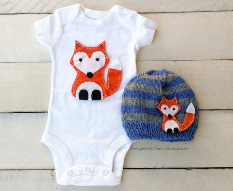 Woodland Bodysuit Set