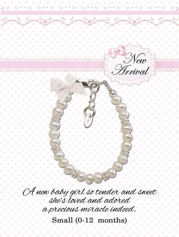 Sterling Silver New Arrival Baby Bracelet Gift