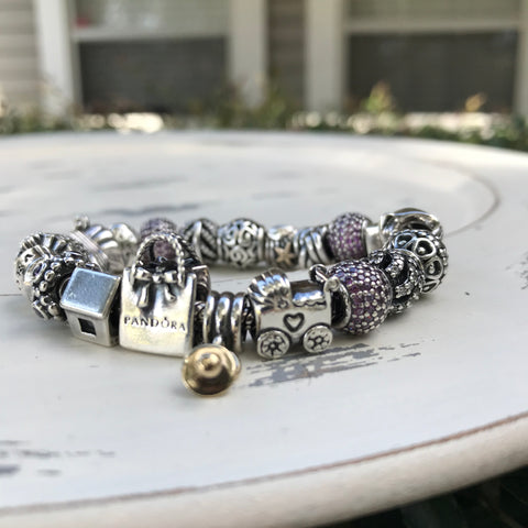 Pandora Baby Carriage Charm