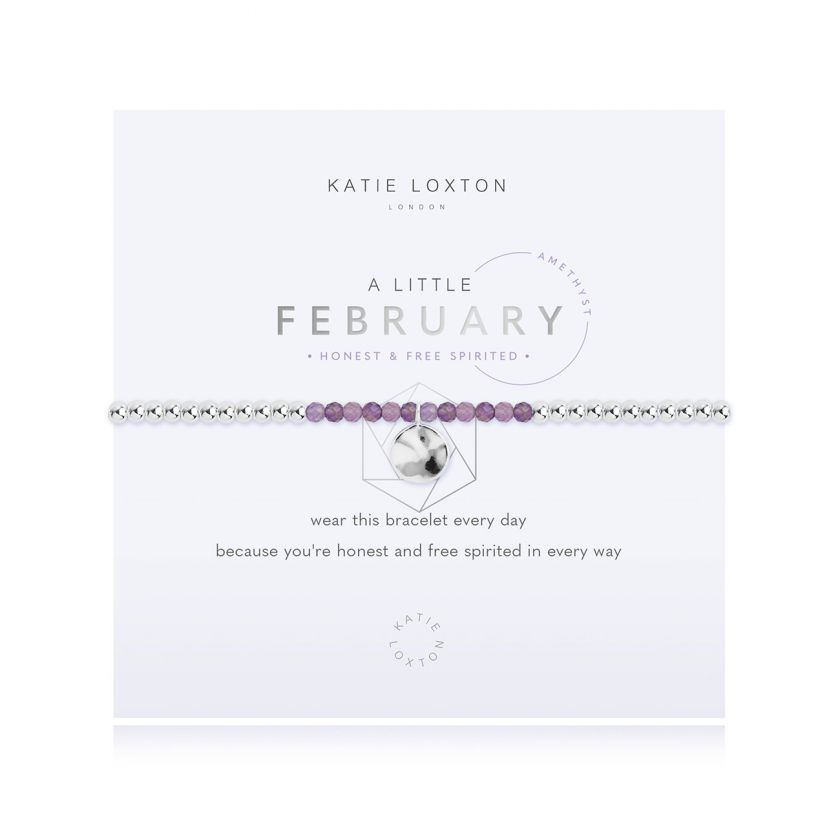 Katie Loxton: A Little February Bracelet