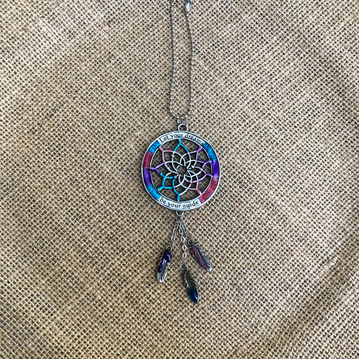 Car Charm: Enamel Dream Catcher