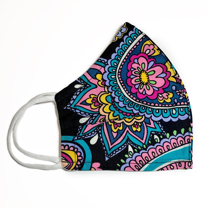 Vera Bradley: Black and Hue Face Mask
