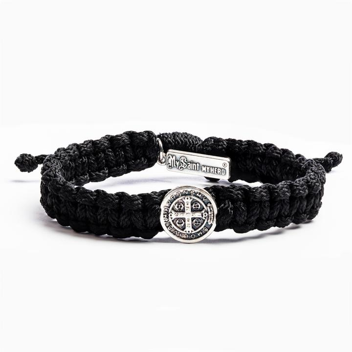 My Saint My Hero: One Blessing Bracelet - Black