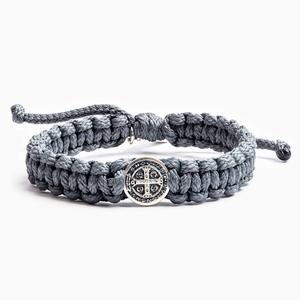 My Saint My Hero: One Blessing Bracelet - Slate