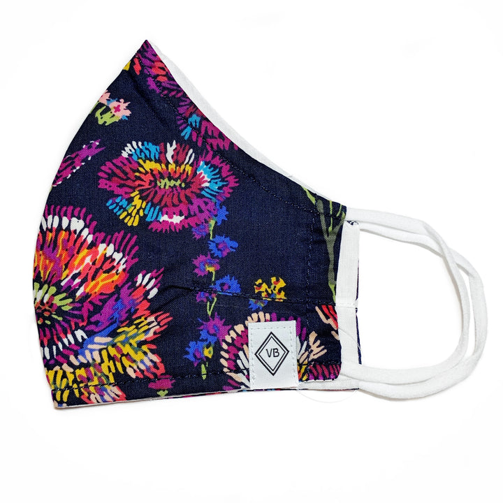 Vera Bradley: Midnight Flowers Face Mask
