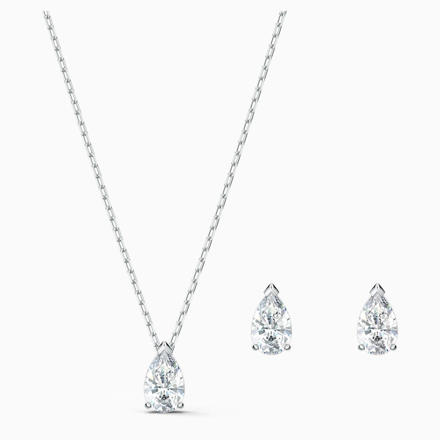 Swarovski: Attract Pear Set