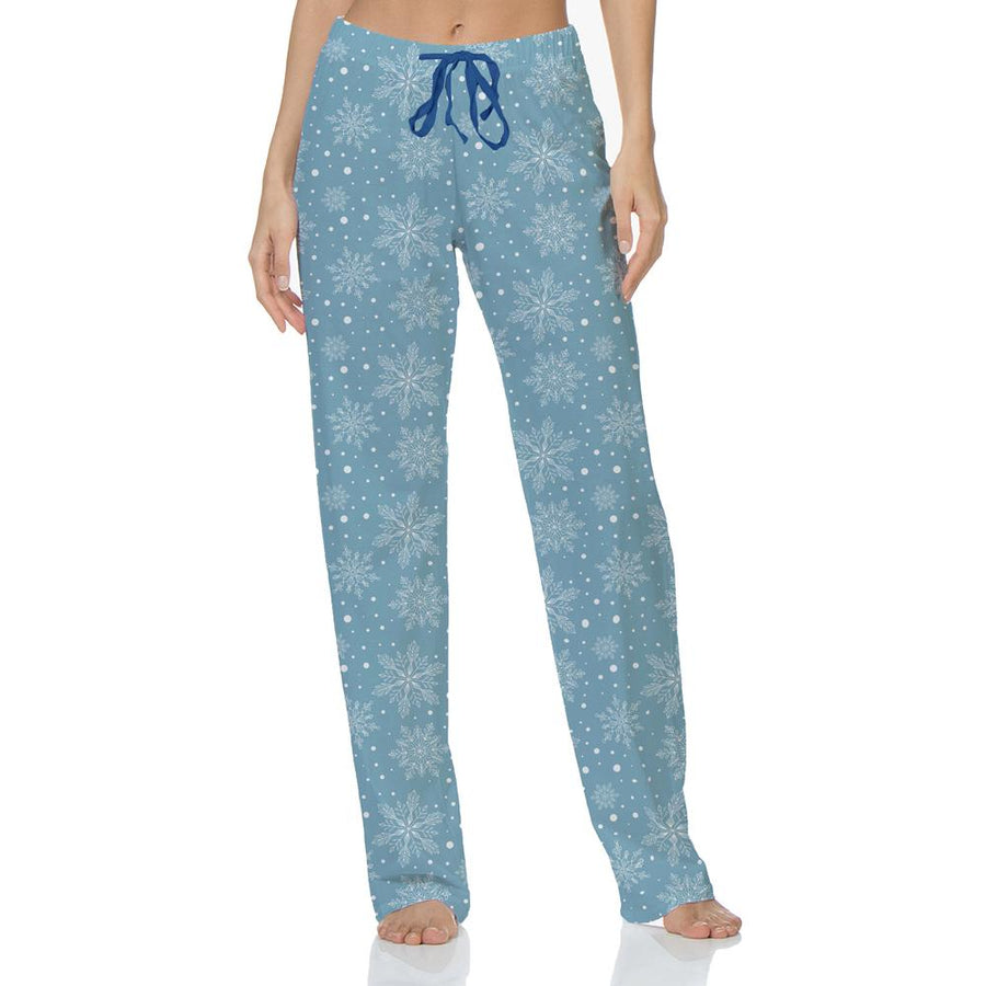 Hello Mello: Snow Cute Holiday Lounge Pants