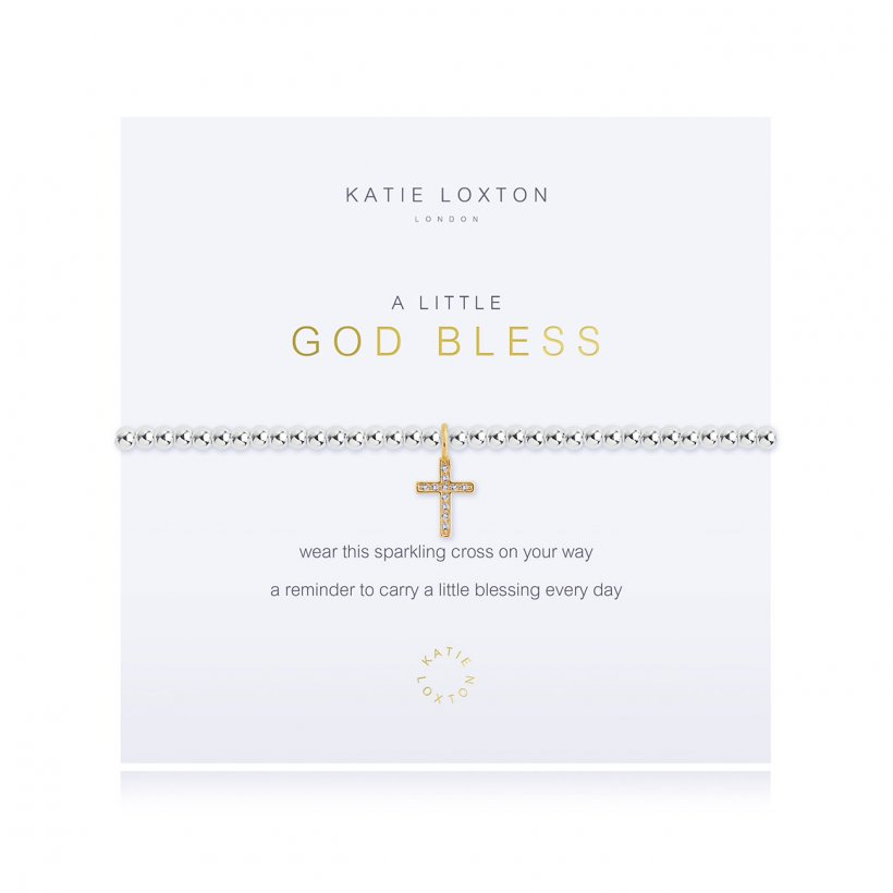 Katie Loxton: A Little God Bless Bracelet