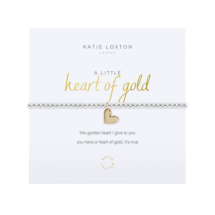 Katie Loxton: A Little Heart of Gold Bracelet